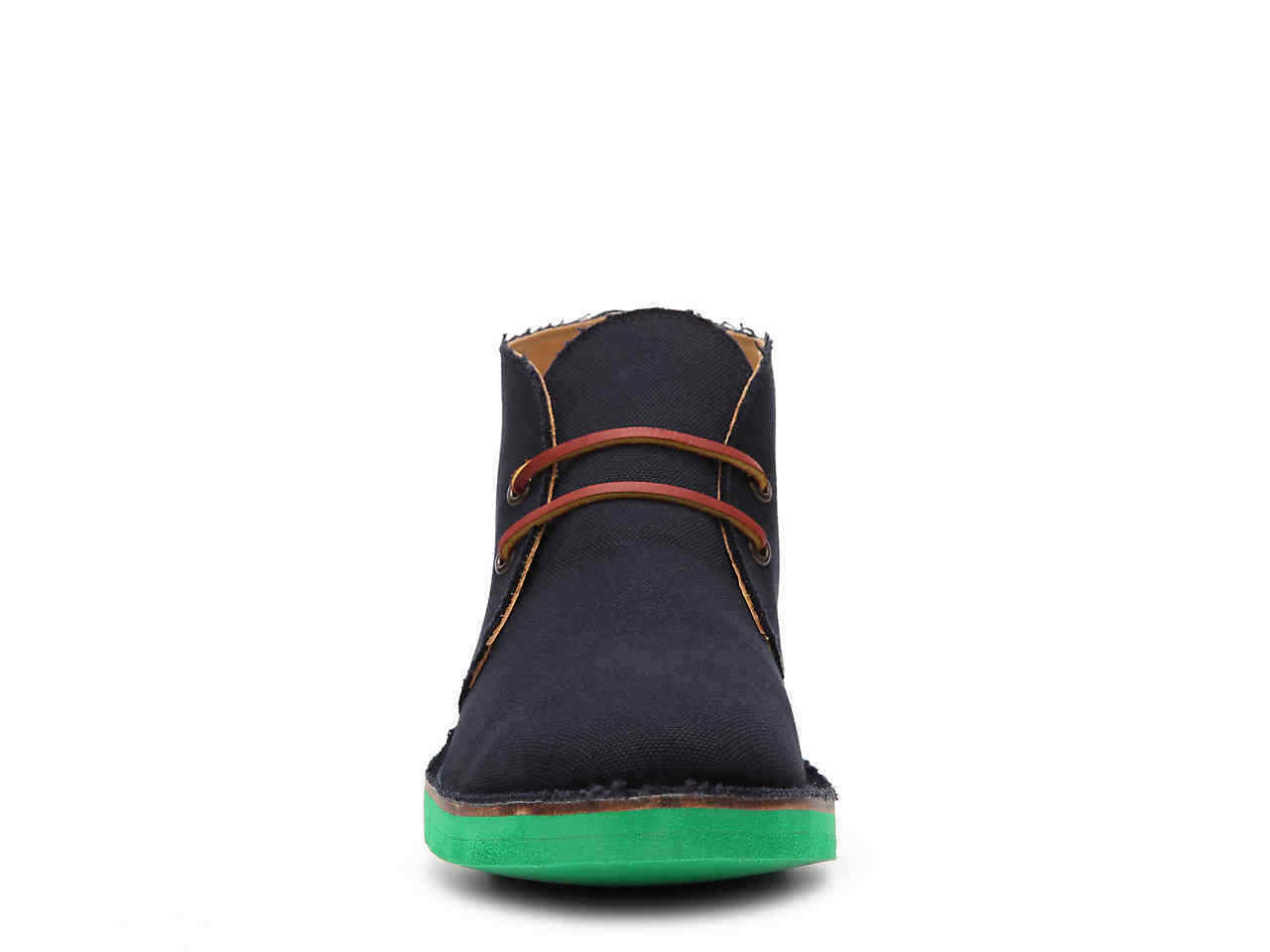 395 NIB Authentic Authentic Authentic RALPH LAUREN COLLECTION RANDON CANVAS CHUKKA BOOT, SPAIN 81fa4a