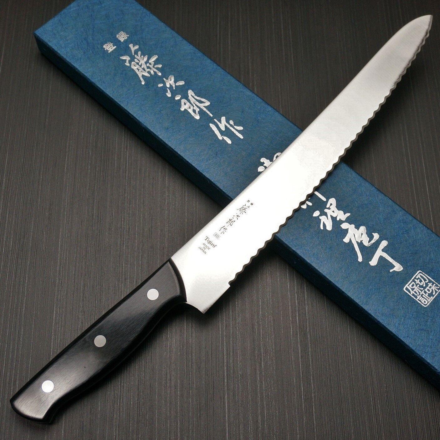 Japonais Tojiro SD Molybdène-Vanadium Couteau à pain 270 mm F-687 du Japon
