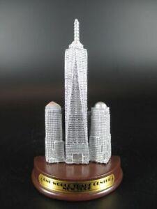 New-York-City-Iman-Torre-de-la-Libertad-World-Trade-Madera-Base-Recuerdo-USA