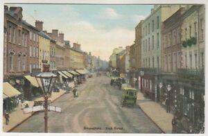 Worcestershire Carte Postale - Bromsgrove, High Street - P/U 1904 (A16)