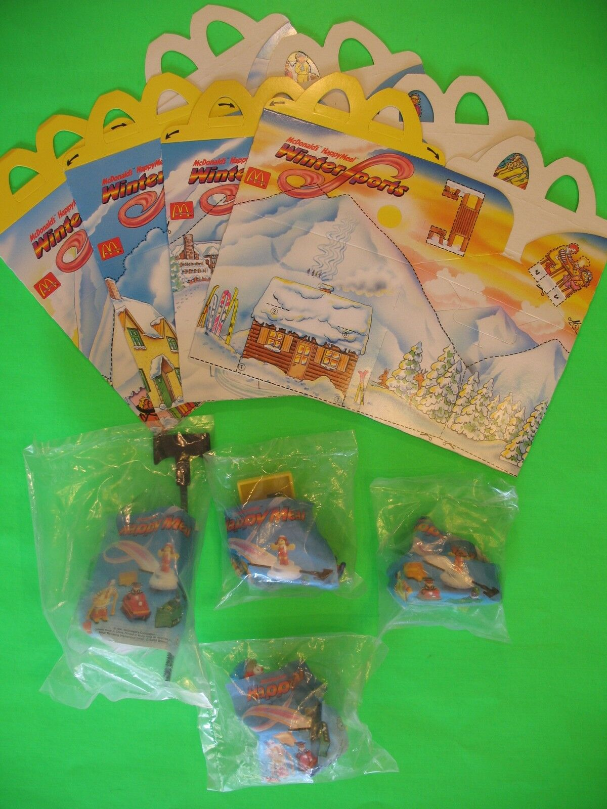 1994 McDonalds - Winter Sports set of 4 MIP with with with 4 Boxes International df639c