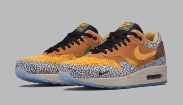 Nike Air Max 1 One Premium QS Atmos Safari Am1 Size 8 665873 200