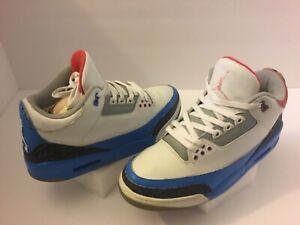 fdd8ca8cdd544e Men s Air Jordan Retro 3 Basketball Athletic Shoes Size 11.5M Multi ...