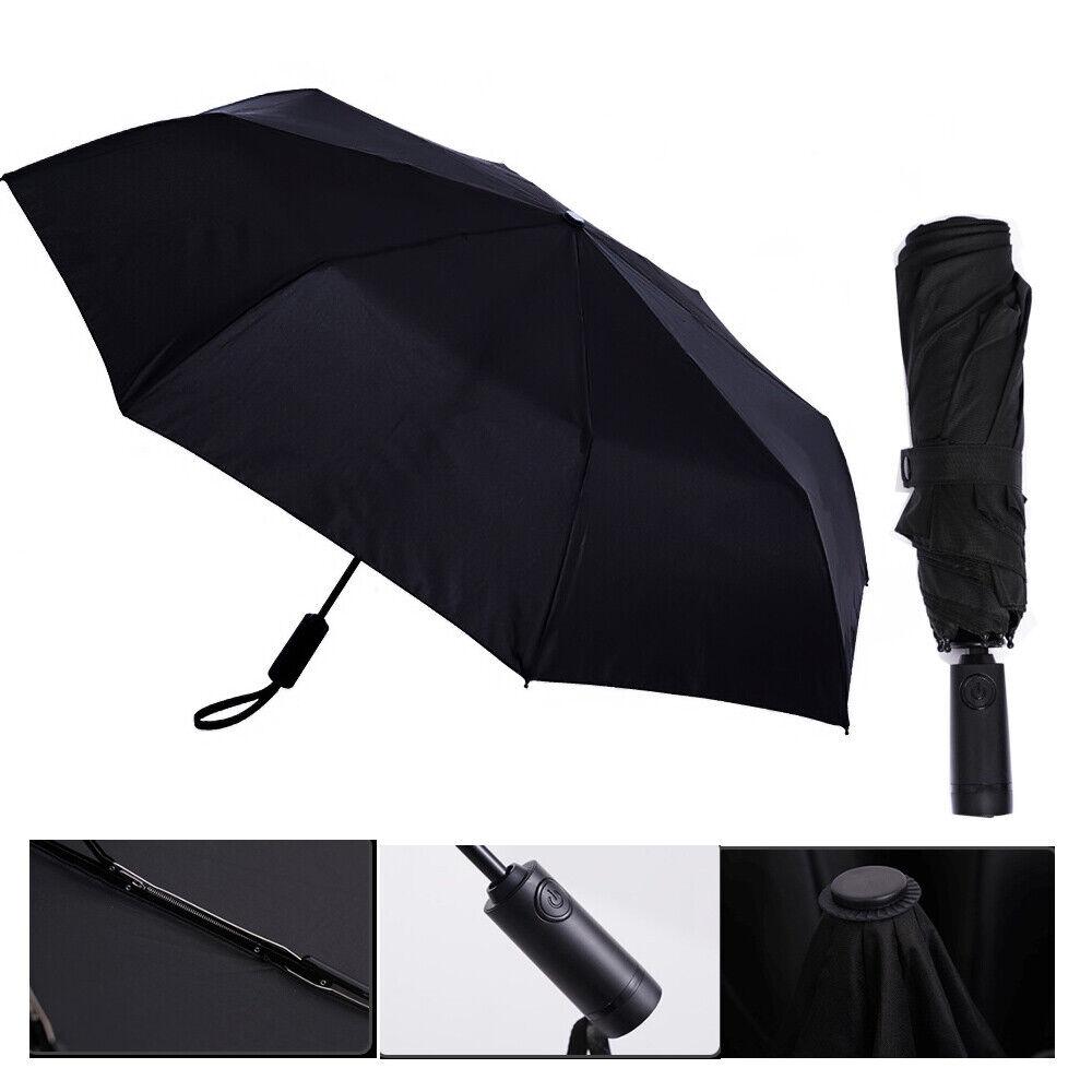 KongGu Umbrella Automatic Folding WD1 23 inches Strong Windproof Sun Umbrella