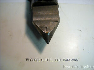 Lathe Center 6 MT Carbide Tipped Dead - Solid