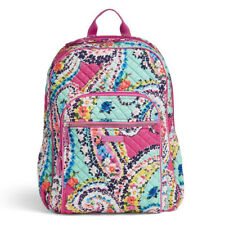 Vera Bradley Iconic Campus Backpack - Wildflower Paisley for sale ... 665a582ab32b2