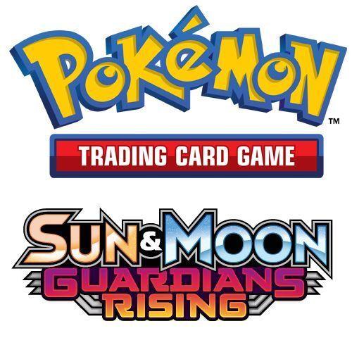 POKEMON SUN /& MOON GUARDIANS RISING CHOOSE YOUR REVERSE HOLO CARDS