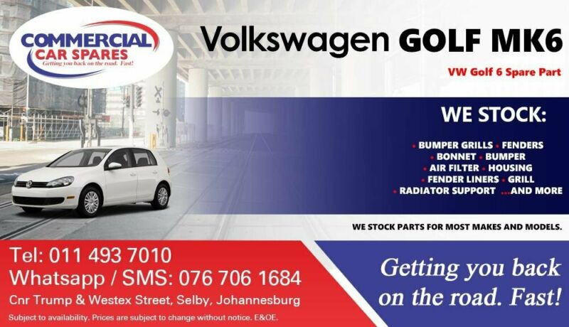 VW Golf 6 Parts and Spares For Sale