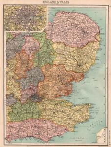 Eastern England East Anglia Home Counties East Midlands London 1898