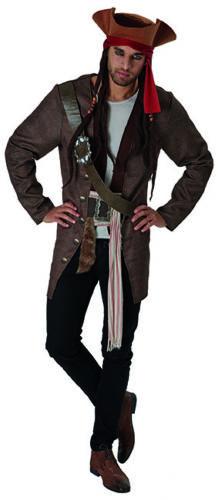 Jack Sparrow Pirates des Caraïbes 5 Deluxe Costume Pour Adultes Hommes