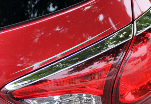 Chromed Taillight Tail Rear Light Lamp Styling Trim For Mazda CX-5 CX5 2012-2016