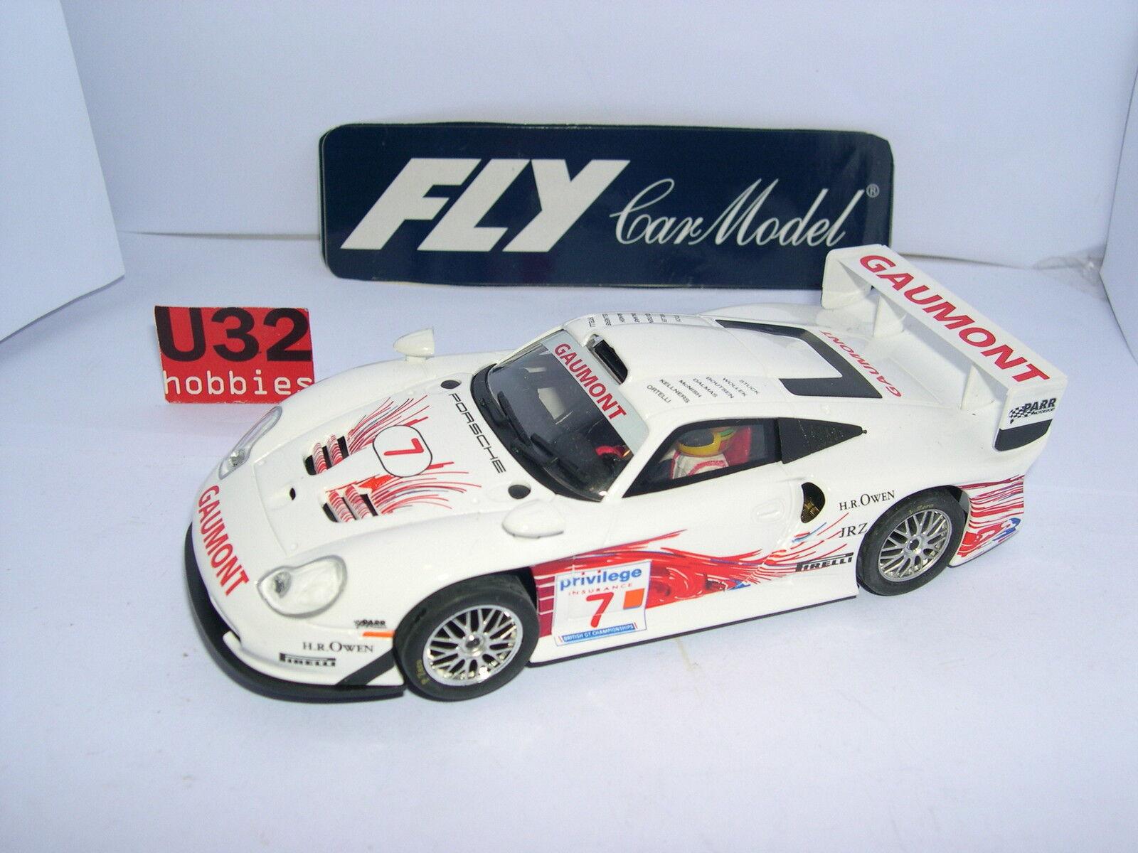 FLY FLY FLY COLLECTION CRIN PORSCHE 911 GT1 EVO #7 BGTC 1969 COMME NEUF BOITE OUVERTE 0c6dc1