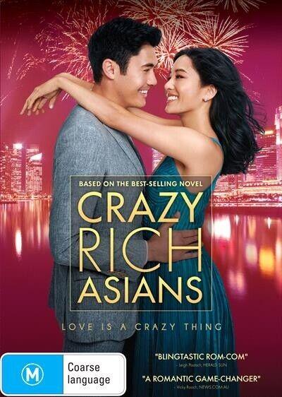 Crazy Rich Asians : NEW DVD