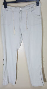 LADIES-SUMMER-CARGO-TROUSERS-SIZE-12