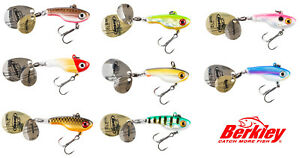 Berkley-Pulse-Spintail-5g-or-9g-Double-Blade-Lure-NEW-2020-Pike-Perch-Predator