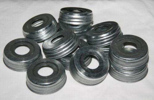 """12 Mason Jar Lids Pre-Drilled 1-1//16/"""" Soap Dispenser Pumps or other DIY Crafts"""
