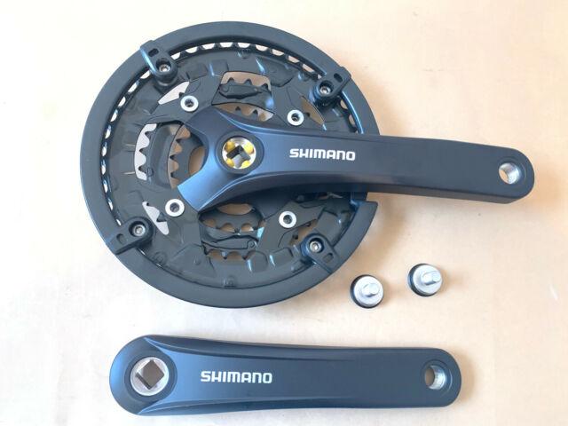 SHIMANO Deore XT FC-M771 Kurbel 3x9-fach 170mm 48//36//26 silber FC-M770 NEU