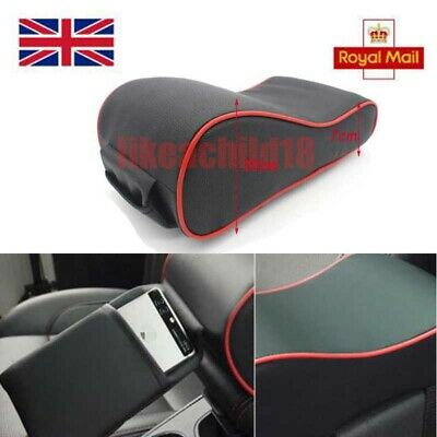 Memory Foam Car Auto Armrest Cushions Consoles Box Pad With Pockets Universal UK