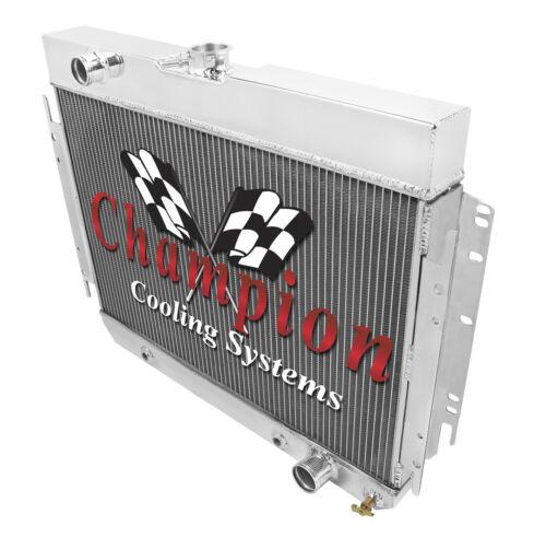 Champion Cooling Systems EC289 2 Row AR Aluminum Radiator
