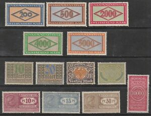 Stamp-Germany-Reich-Revenue-Collection-Imperial-Reich-Tax-Fees-Impost-Fiscal-MNH