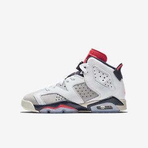Nike Jordan Retro 6 GS Tinker Hatfield 384665-104 Junior Shoes  c7ba15afd