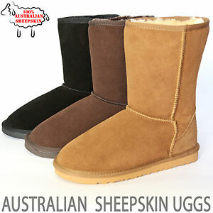 2fc2fc20502 Details about Ugg Boots Classic Short Australia Uggs Womens Mens Sizes 6 7  8 9 10 11 12 13 14