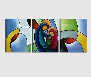 Quadri moderni capoletto dipinti a mano su tela religioso for Sacra famiglia quadri moderni