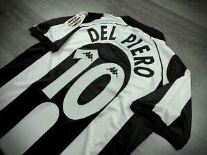 [Retro] - Juventus Home 1997/98 10 DEL PIERO with Calcio Patch Size M