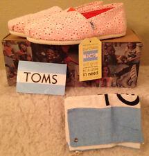 NIB TOMS Classics ORANGE ANGLAISE Flats Shoes Womens size 8 M