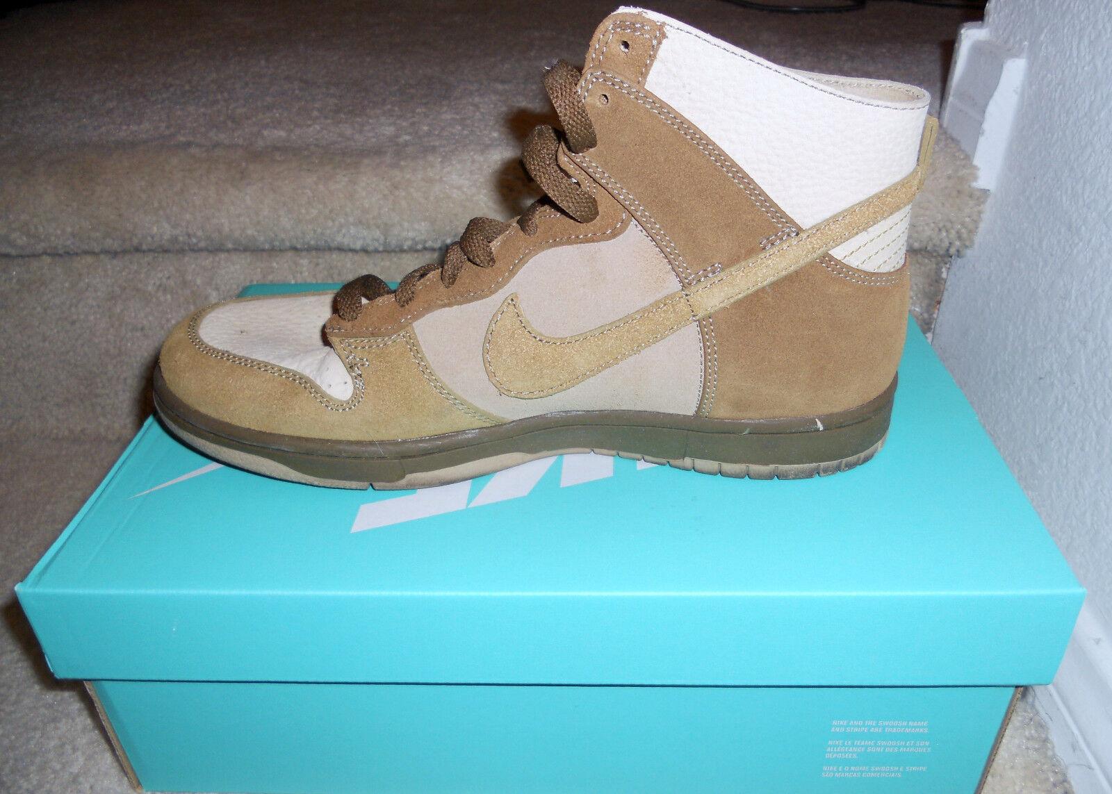 Nike Nike Nike dunk hohe 311296 131 us - größe 9,5 m / dummy - box 859100