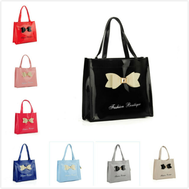Ladies girls Boys Women kids Lunch Bag Shopper Bows TB Style travel Gift UK