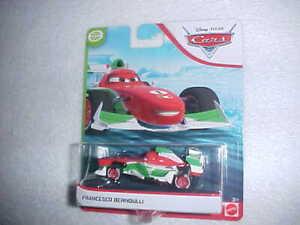 HW-DISNEY-PIXAR-MOVIE-CARS-034-FRANCESCO-BERNOULLI-034-VHTF-NEW-DIE-CAST-CAR
