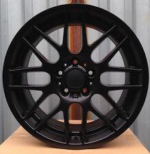 """18"""" CSL Style MATT BLACK Wheels Rims FITS BMW 335 E46 E90 E92 335i 325i 328i"""