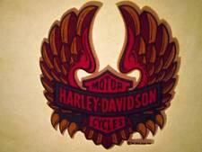 NOS Vtg Iron On Heat Transfer Small Harley Davidson Motorcycle 1975 Rats Hole