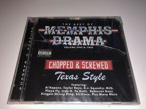 CD-AL-KAPONE-Memphis-Drama-Texas-Style-2003-Sealed-Ultra-Rare-Memphis-Rap