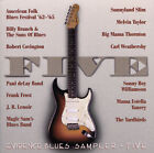 Evidence Blues Sampler: Five by Various Artists (CD, Sep-1996, Evidence)