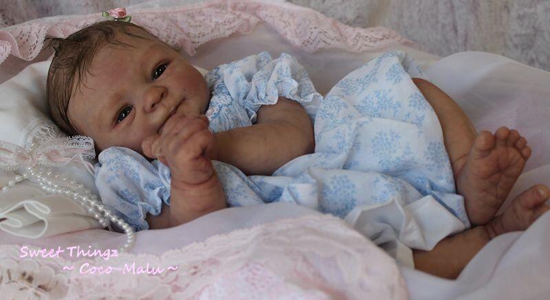 Personalizado Bebé Reborn  Elisa Marx esculpir con placa de vientre  3d realistas Piel