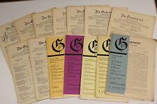 alte Zeitschrift 14 Stück  die Gegenwart 1948 - 1953