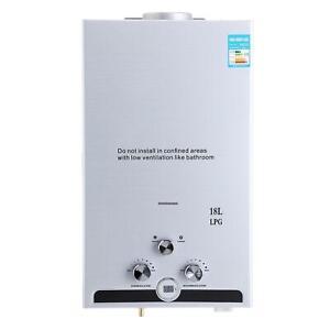 18 L LPG Propangas Warmwasserbereiter Durchlauferhitzer Wasserspeicher Boiler