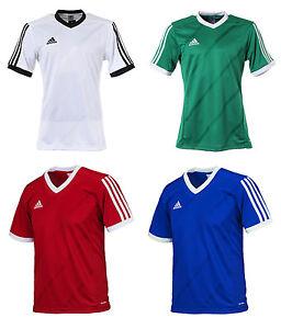 9113ecfeb3cf Adidas Tabela 14 S S Jersey F50270 T-Shirts Training Top Soccer ...