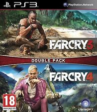 FAR CRY DOUBLE PACK 3 & 4 PS3 Game (BRAND NEW SEALED)