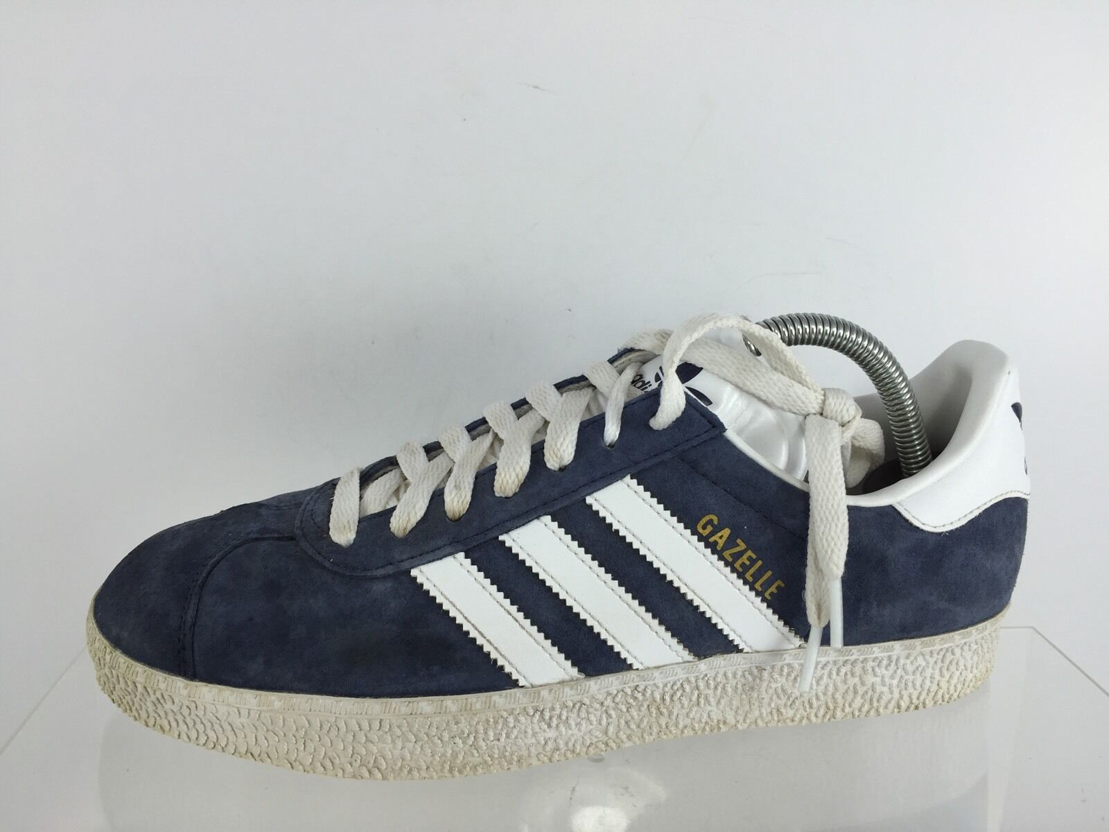 Adidas Mens Navy White shoes 8