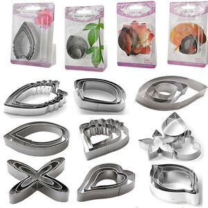 Flower-Petal-Stainless-Steel-Biscuit-Cookie-Cake-Pastry-Fondant-Mould-Cutter