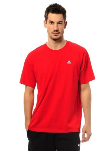 Adidas Mens Essentials Crew T Shirt Training Top Jersey Gym Free Tracked Post