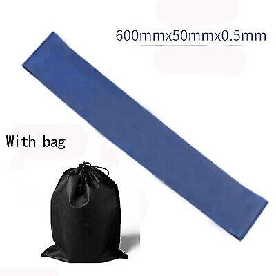 5 Farben Yoga Resistance Gummibänder Indoor Outdoor Fitnessgeräte 0.35mm-1.1mm