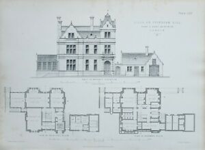 1868-Architektonisch-Aufdruck-Villa-auf-Sydenham-Hill-Banks-amp-Barry-Architects