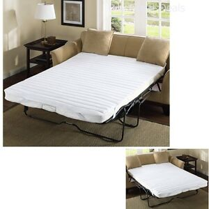 Pull Out Sofa Bed Mattress Pad Bedding Full Size