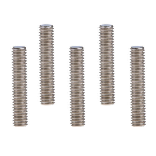 5x M6x30mm Düsenhals Mit Teflonrohr 1,75mm Für MK8 3D Drucker Extruder