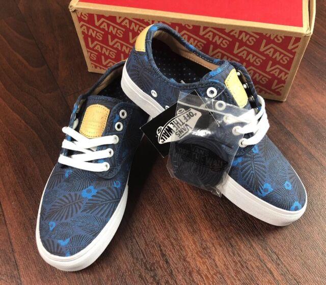 22b302d70de757 VANS Womens Chima Ferguson Pro Tropic Havana Parisian Blue Shoes ...