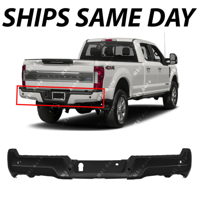 Painted  OEM 2017 2018 2018 Ford Super Duty F 250 F 350  Rear Bumper Assembly